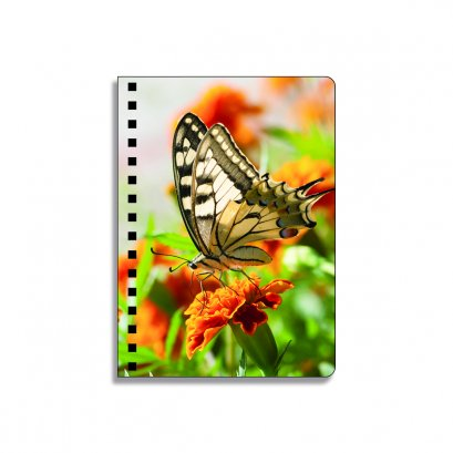 China hotsale customized Best quality A5 size 3 lenticular notebook cover