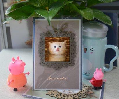 Factory price custom 3d lenticular greeting card paper
