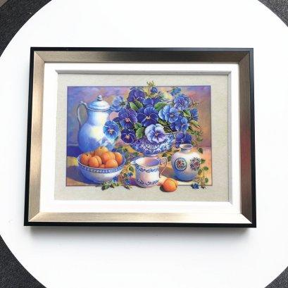 Framed lenticular 5d picture lenticular printing of fruit