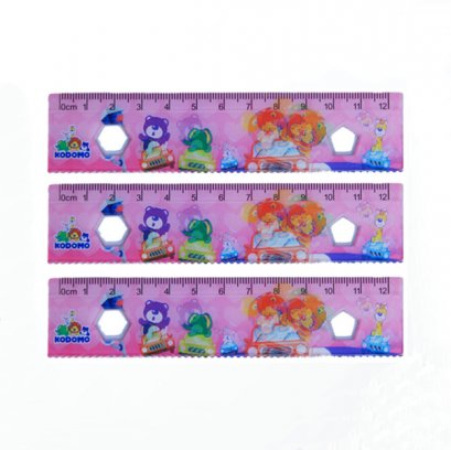 lenticular 3d ruler promotional for kids