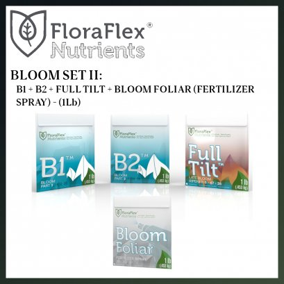 VALUED SET: FLORA FLEX BLOOM B1B2FULLTILT + FOLIAR