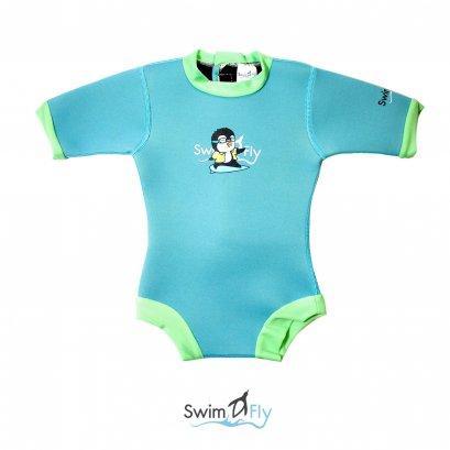 ชุดว่ายน้ำกันหนาว, ชุดว่ายน้ำรักษาอุณหภูมิ Exploring Bodysuit (Green) SwimFly