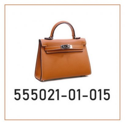 Genuine leather lady handbag