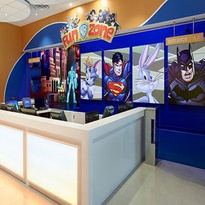 วอร์เนอร์ บราเธอร์ส ฟันโซน (Warner Bros. Fun Zone) สัมผัสกับเวลาแห่งความสนุก