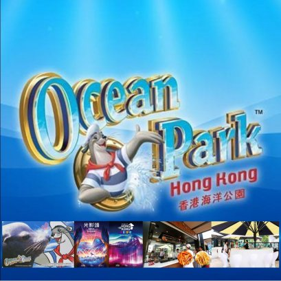 Oceanpark  1 Day with Gala of Light Night Ticket