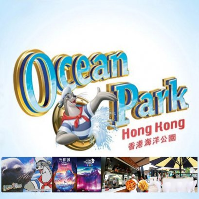 Oceanpark 1 Day with Gala of Light Full Day