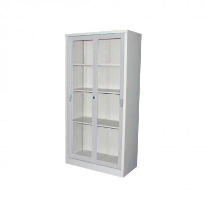 ตู้บานเลื่อนกระจกสูง KSG-914