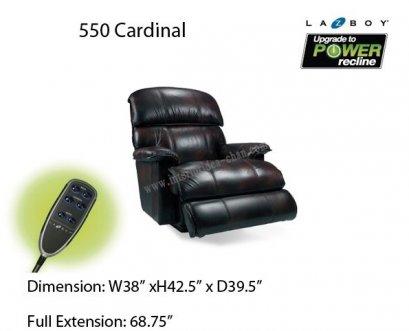 LA-Z-BOY  550 Cadinal หนัง EM