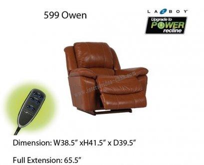 LA-Z-BOY  599 Owen หนัง EM