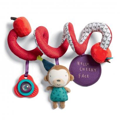 ของเล่นติดรถเข็น Spiral Travel Toy - Cheeky Faces
