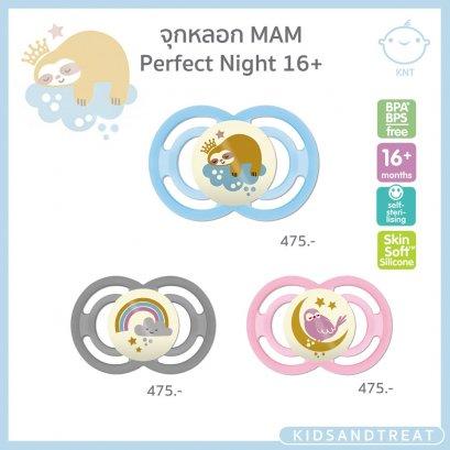 จุกหลอก MAM Perfect NIGHT 16+ เรืองแสงในที่มืด
