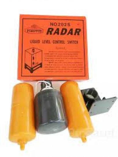 ลูกลอยไฟฟ้าอัตโนมัติ แบบถ่วงตุ่มน้ำ  RADAR