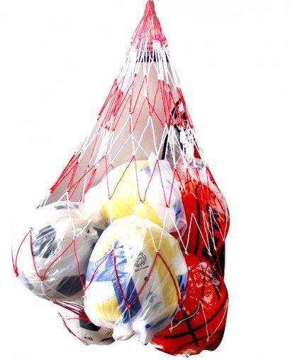 ตาข่ายใส่บอลรวมหมู่ ตาข่ายใส่ลูกฟุตบอล ใหญ่(12 ลูก)
