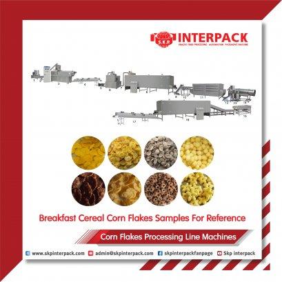 Corn Flakes  Processing Line Machines