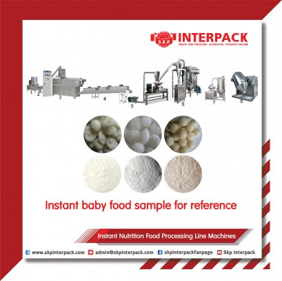 Instant Nutrition Food  Processing Line Machines