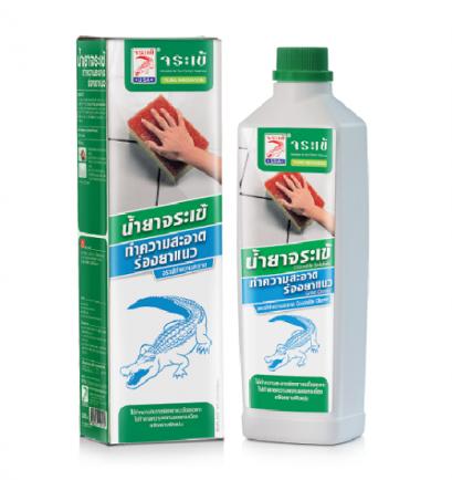 จระเข้ น้ำยาทำความสะอาดร่องยาแนว (500ML)