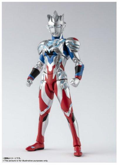 โมเดลอุลตร้าแมนแซดของแท้ SHF Ultraman Z Alpha Edge BANDAI