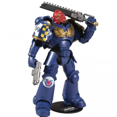 "McFarlane Warhammer 40K Ultramarines Primaris Assault Intercessor 7"" Action Figure"