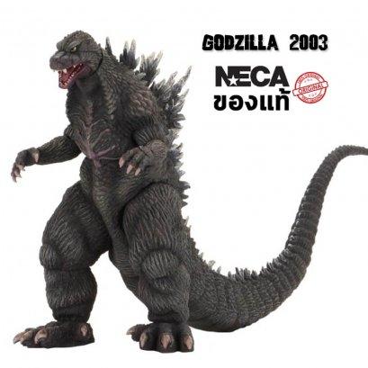 """โมเดลก็อตซิลล่า 2003 ของแท้ NECA Godzilla: Tokyo S.O.S. 6"""" Godzilla 2003"""