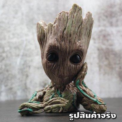 กระถางต้นไม้กรูท Groot Pen Flower Pot