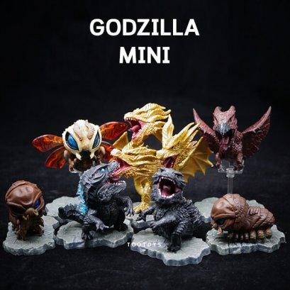 Godzilla SD ชุดใหม่ 7 ตัวมีฐาน