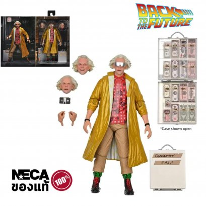 """Back To The Future - 7"""" Scale Action Figure - Ultimate Doc Brown 2015 Version."""