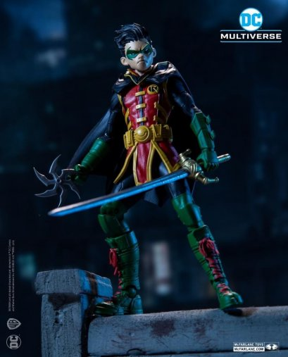 McFarlane DC Dark Nights: Death Metal Figures : Damien Wayne Robin