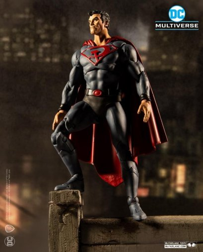 McFarlane DC Dark Nights: Death Metal Figures : Red Son Superman
