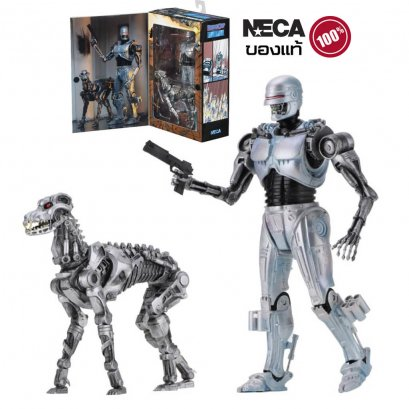 โมเดลโรโบคอป NECA Robocop Vs Terminator Future Endocop&Terminator Dog Figure