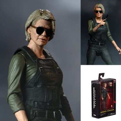 """Terminator: Dark Fate – 7"""" Scale Action Figure – Sarah Connor"""