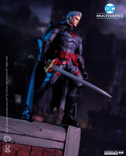 McFarlane DC Flashpoint Batman Unmasked Variant Action Figure