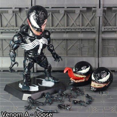 Model Venom หัวโต สไตล์ Egg Attack เวอร์ชั่น movie
