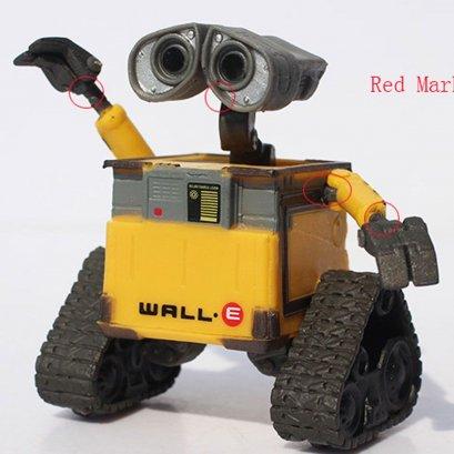 โมเดลหุ่นยนต์ wall-e ตัวเล็กๆ ขยับจัดท่าได้ (เวอร์ชั่นตัวไม่เปื้อน)