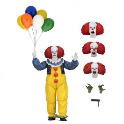 """IT 7"""" Figures - Ultimate Pennywise (1990 Miniseries)"""