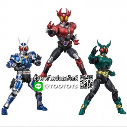SHODO-X Kamen Rider Agito Set [P-BANDAI] Limited