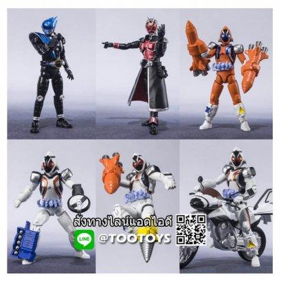 Shodo-X Kamen Rider 14 โชโดเอ็กซ์ ไรเดอร์ชุดที่ 14 ครบชุด 7 กล่อง