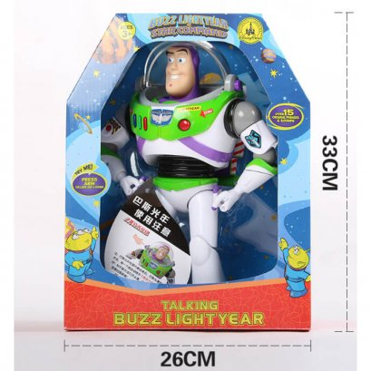 Talking Buzz Lightyear - หุ่นบัสไรเยียส์พูดได้