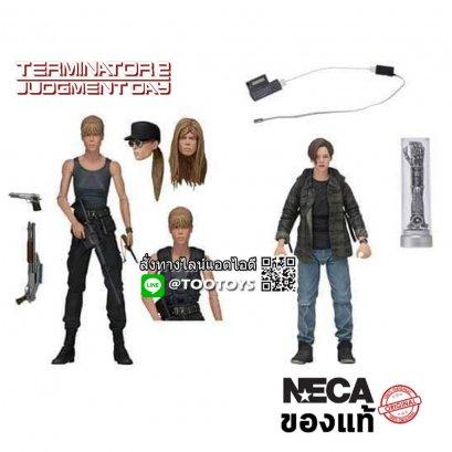 NECA Terminator 2 - Sarah Connor & John Connor