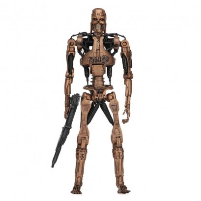 "Terminator 7"" Figures - T2 Kenner Tribute Metal Mash Endoskeleton"