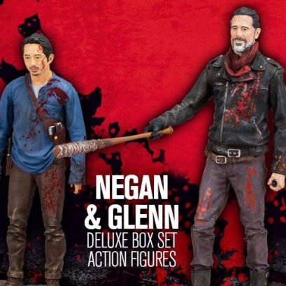 The Walking Dead Negan & Glenn Deluxe Box Set 2-Pack