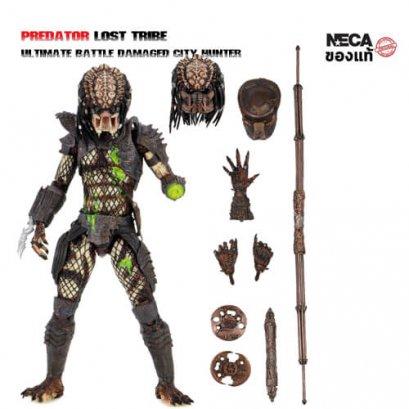 NECA Predator 2 Ultimate Battle Damaged City Hunter Action Figure