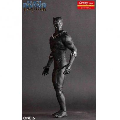 โมเดล black panther: crazy toys สูง 12 นิ้วตั้งโชว์