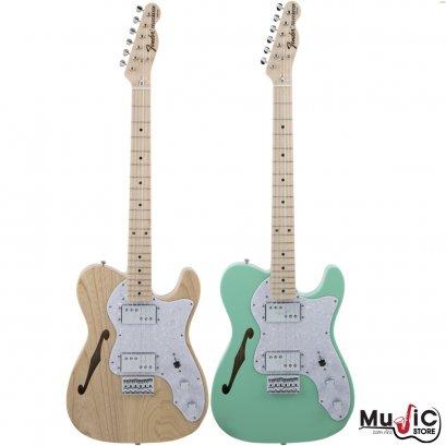 กีตาร์ไฟฟ้า Fender Traditional II 70S Telecaster Thinline