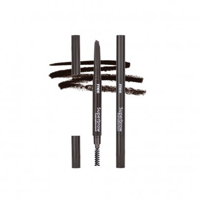 Mee Superbrow auto eyebrow pencil  01 Dark Brown