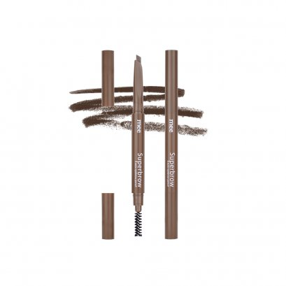 Mee Superbrow auto eyebrow pencil 02 Natural Brown
