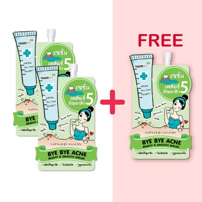 Nami Bye Bye Acne Bright & Smooth Serum 1 Sachet(copy)