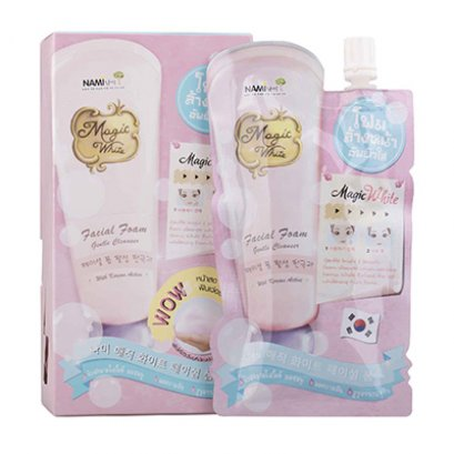 Nami Magic White Facial Foam 1 Box (4 Sachets)