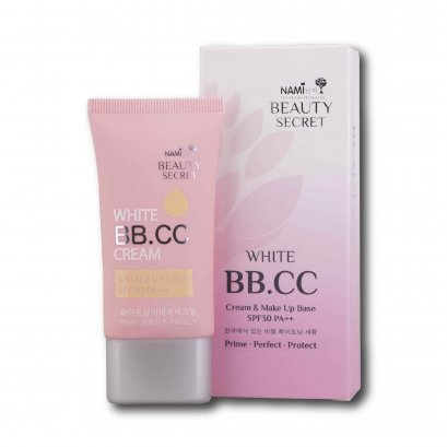 Nami Beauty Secret White BB.CC Cream 30 g.
