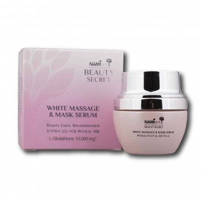 Nami Beauty Secret White Massage & Mask Serum 35 g.