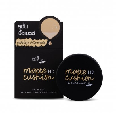 Nami Make Up Pro Matte HD Cushion 1 Box